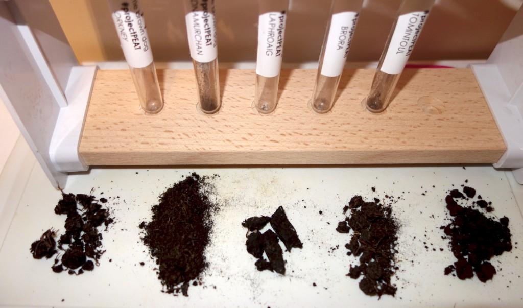Peat Samples